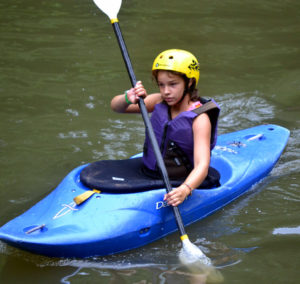 Kayaking Girl