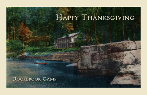 Summer Camp Thanksgiving Greetings