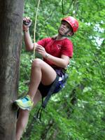 Summer Camp Girl Climber