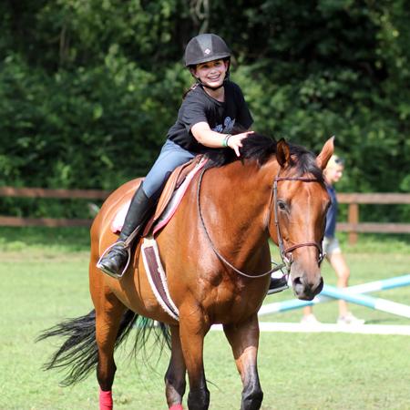 Equestrian Camp Program for Girls