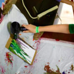 Painting Camp Activity