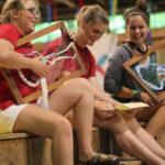 Summer Camp Staff presenting activity skits