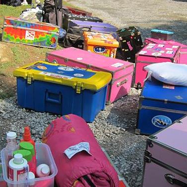 Summer camp trunks arriving