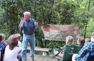 Campfire Story Teller Gary Green