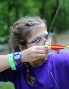 Teen Archery Girl