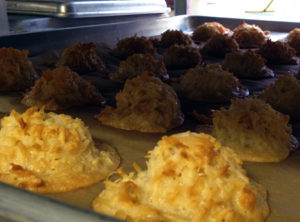 Camp coconut macaroons
