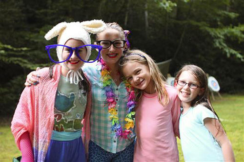 Summer Campers in Costumes