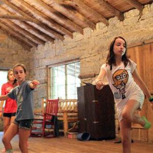 Camp Dancing class