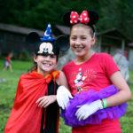 Kids camp wearing disney clothes