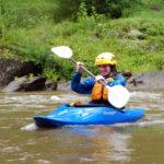 Girl River kayaking