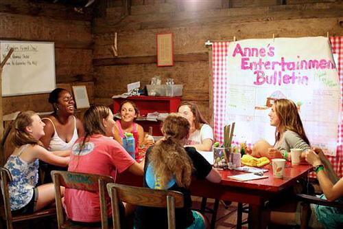 Journalism Camp Activity Girls