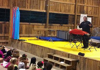 Camps magic show