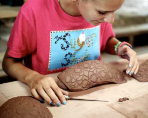 Camp clay pattern project