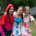 Black Forest Girls Costumed