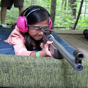 Child with big gun