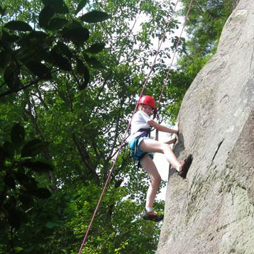 Rock CLimbing Girl