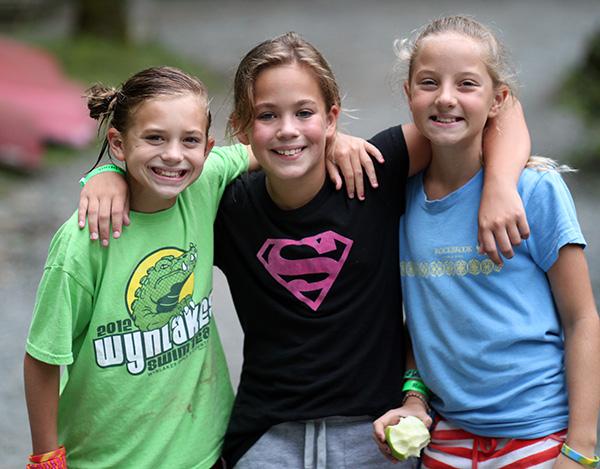 Camp Girls Friends Success