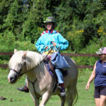Camp Horse Riding Relay