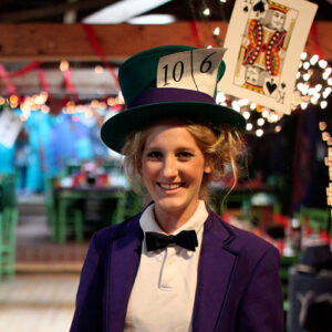 Mad Hatter Character in Alice Banquet