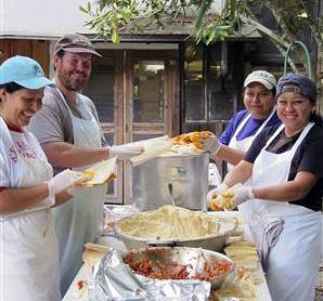 Fresh Tamale Making crew