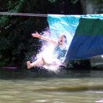 Camp Water Slide girl