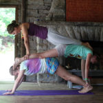 Stacked Yoga Posing Girls