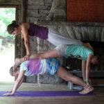 Stacked Yoga Posing Girls