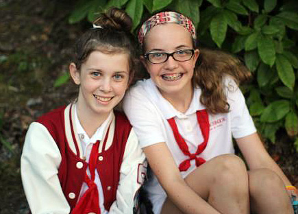 Confident Camp girls