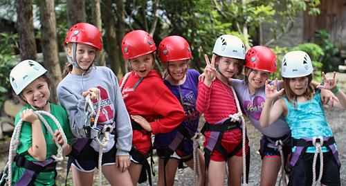 Girl Zipline Crew