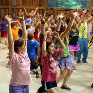 Camp Girls Dance