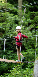 Canopy Tour Bridge Kid