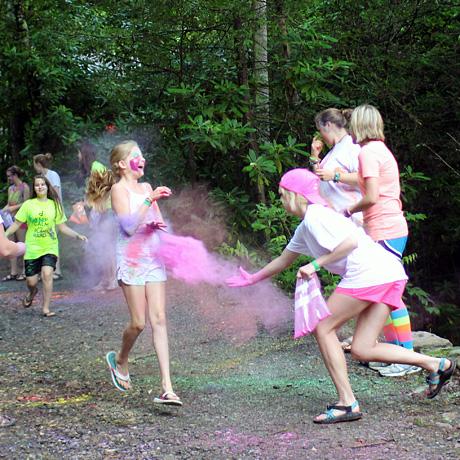 Camp color run