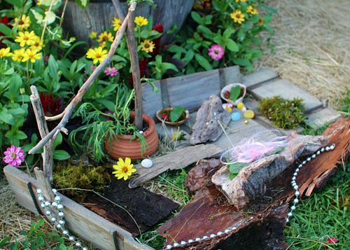 Garden Fairy Village