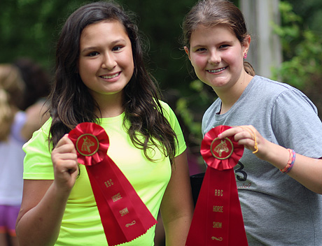 Girls Horse Show Results