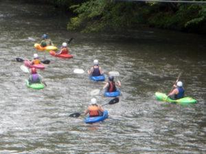 Camper's Kayak Trip