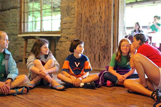Camper Games in Lodge