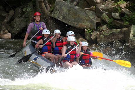 Nantahala Rafting Falls