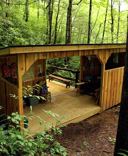 Nature Camp Cabin