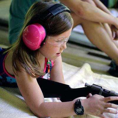 Riflery Girl Protection