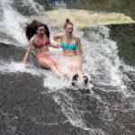 Sliding Rock Girl Speed