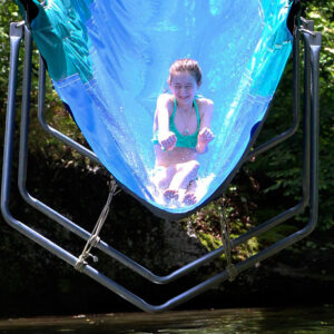 Camp Water Slide girl