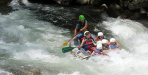 Kids Whitewater Rafting