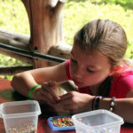 Girls Camp Bead Craft