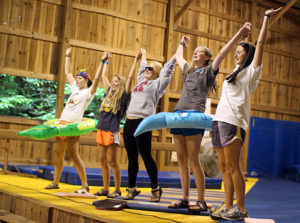 Camp Counselor Skit with costumes