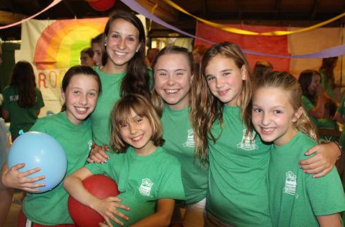 Girls Camp children