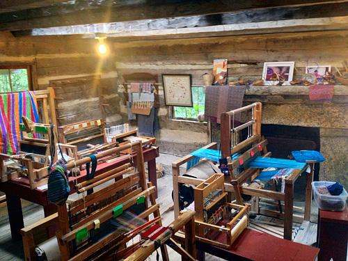 camp craft cabin interior
