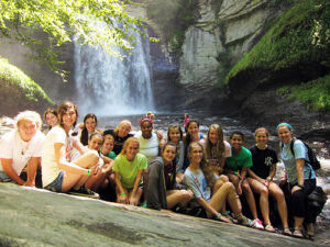 Waterfall Camp Kids