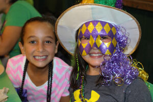 Costumes for Mardi Gras Dinner