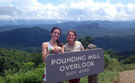 Pounding Mill Overlook NC