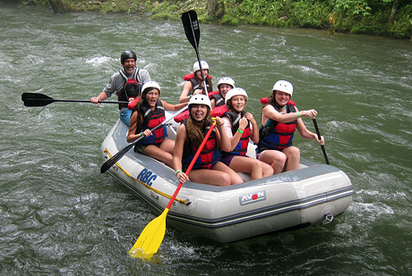 Whitewater Rafting Team
